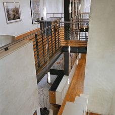 Contemporary Hall by Gallin Beeler Design Studio