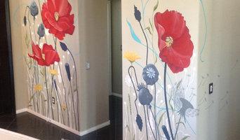 Interior Mural - Wildflowers