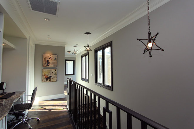 Contemporary Hall by Robeson Design