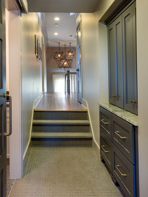 Transitional columbus hallway design ideas pictures for Angela bonfante kitchen designs