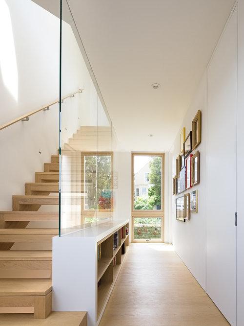 Best modern hallway design ideas remodel pictures houzz for Modern hallway ideas