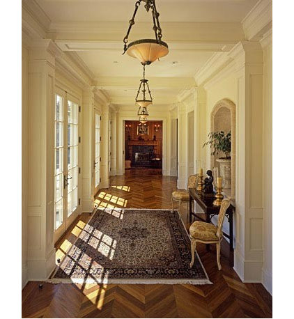 Traditional Hall by JMA (Jim Murphy and Associates)