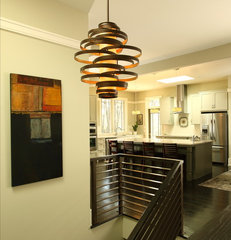 modern hall by JR McDowell Homes