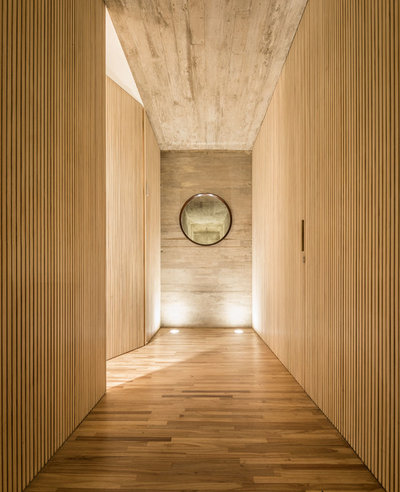 Modern Hall by Accoya Wood