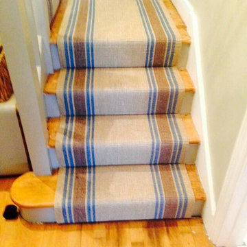 Kersaint Cobb - Sisal Runner - Stairs With a Quarter Landing