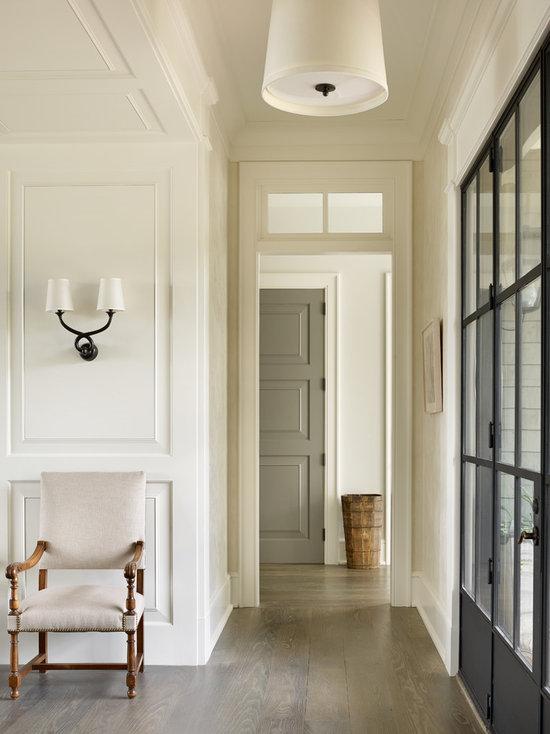 Beach Style Hallway Design Ideas, Pictures, Remodel & Decor