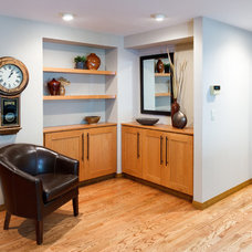 Contemporary Hall by C&R Remodeling