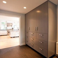 Contemporary Hall by The Remodeling Company