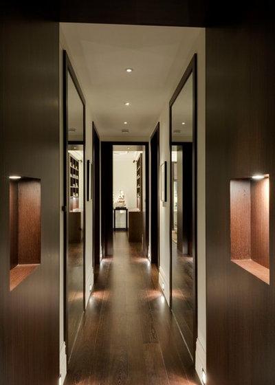 Contemporary Hallway & Landing by STEPHEN FLETCHER ARCHITECTS