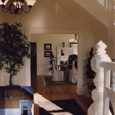 Traditional Hall by Larry Paul Associates