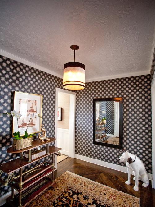 Houzz Foyer Wallpaper : Entryway wallpaper houzz