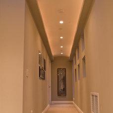Contemporary Hall by VML Design & Lighting