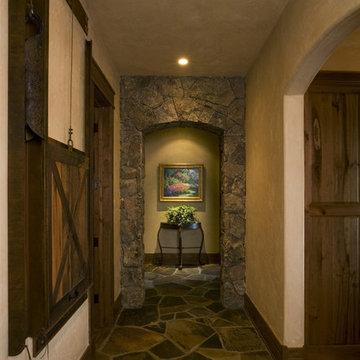 Lake Cabin Hallway