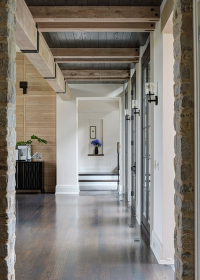 Traditional Hall by Michael Abraham Architecture