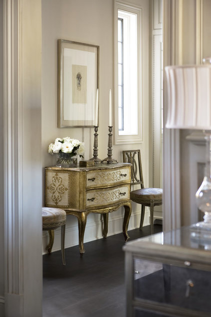 transitional hall by Linda McDougald Design | Postcard from Paris Home