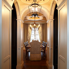 Traditional Hall by Parkyn Design