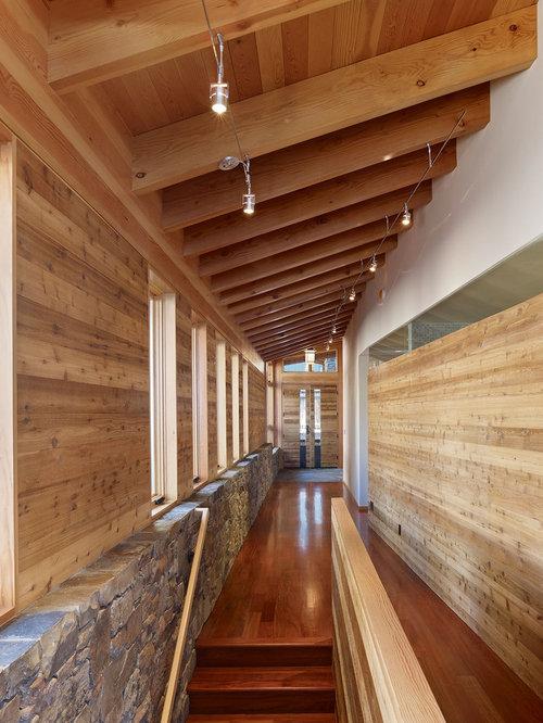 track lighting hallway design ideas pictures remodel decor. Black Bedroom Furniture Sets. Home Design Ideas