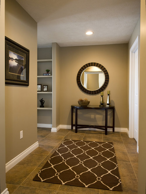 Paint Color For Hallway taupe paint color hallway ideas & design photos | houzz