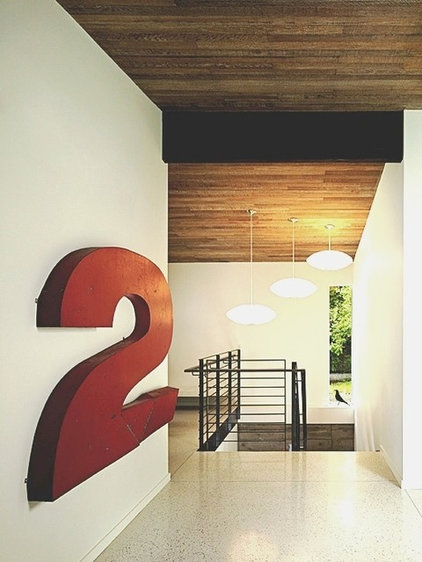 Midcentury Hall by DeForest Architects