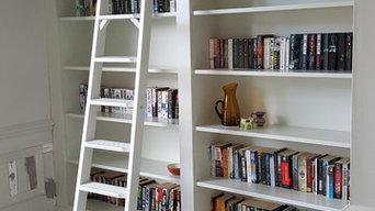Landing bookcase