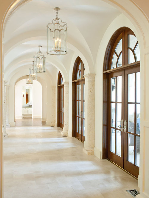 French Doors With Arched Transoms Houzz