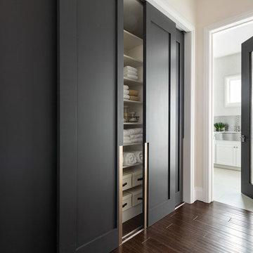 Las Vegas Modern Home - Modern Solid Wood Glass Doors