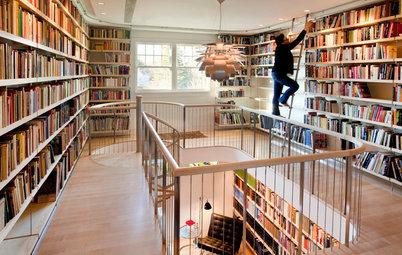 世界の読書家たちが暮らす「本と本棚が主役の家」