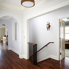 Traditional Hall by Ingrained Wood Studios