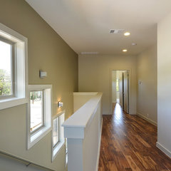 modern hall by Brodie Builders
