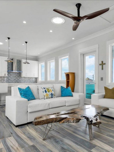 Eclectic Hall by Solatube Home Daylight