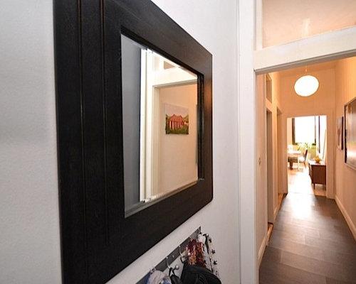 industrial flur mit vinyl boden design ideen bilder beispiele. Black Bedroom Furniture Sets. Home Design Ideas