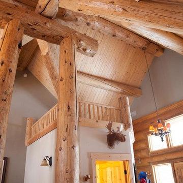 Log Home Glamour