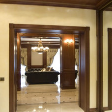 Traditional Hall by Lompier Interior Group