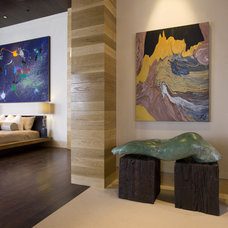 Contemporary Hall by Lori Dennis, ASID, LEED AP