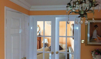 Lovely paintwork in a traditional English home