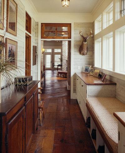 Farmhouse Corridor by Frederick + Frederick Architects