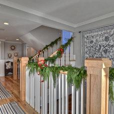 Traditional Hall by LuAnn Development, Inc.