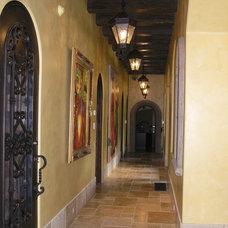 Mediterranean Hall by Hamilton-Gray Design, Inc.