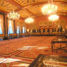 Traditional Hall by John David Edison Interior Design Inc.