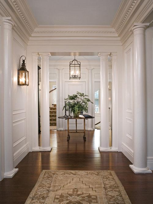 Inspiration for a timeless hallway remodel in Charleston & Foyer Lantern   Houzz azcodes.com