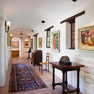 Majestic Adobe Hallway