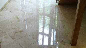 Marble floor polishing Brighton