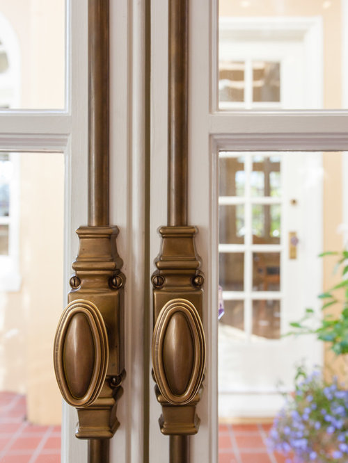 French door hardware ideas pictures remodel and decor for Home hardware french doors