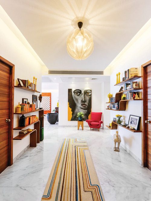 Marble Floor Hallway Ideas & Design Photos | Houzz