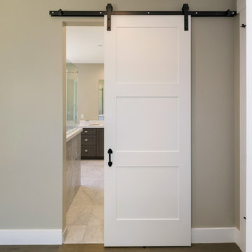 Masonite modern barn door