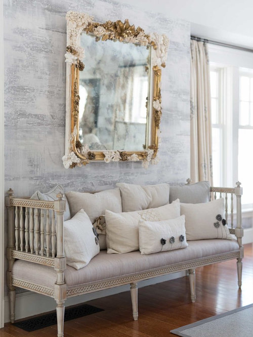 1 shabby chic style boston hallway design ideas remodel pictures houzz. Black Bedroom Furniture Sets. Home Design Ideas