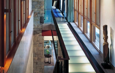 Lighten Up With Glass Floors