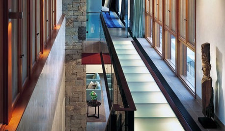 Like Showing Off Your Home? Install Glass Floors