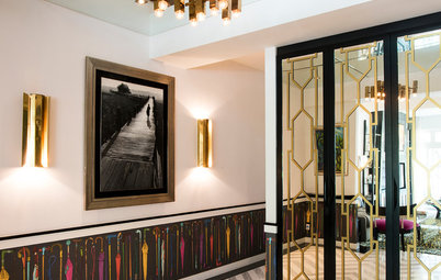 Houzz Tour: This Maximalist Modern Apartment is All Glitz and Glamour