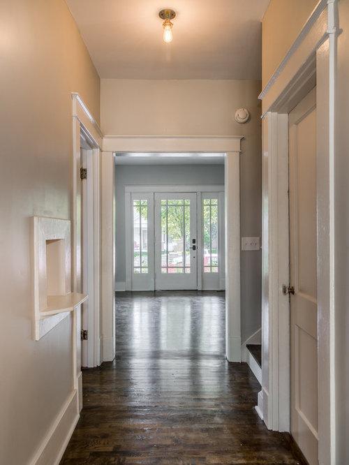 Foyer Ideas Craftsman : Craftsman nashville hallway design ideas pictures
